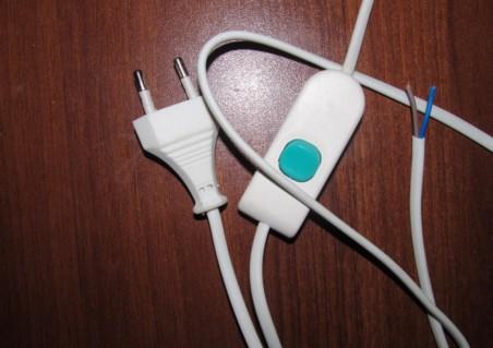 выключатель шнурок для бра