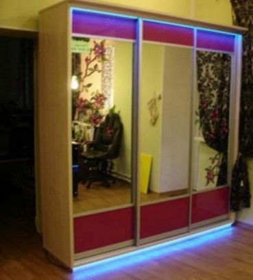 готовый вариант подсветки светодиодной ленты