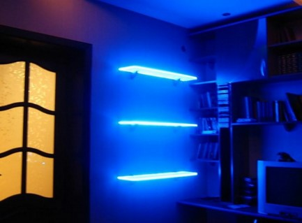 готовый вариант подсветки светодиодной