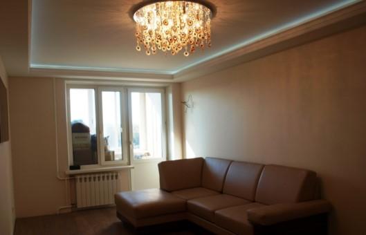люстры в гостиной