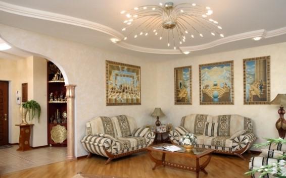 люстры в гостиную фото