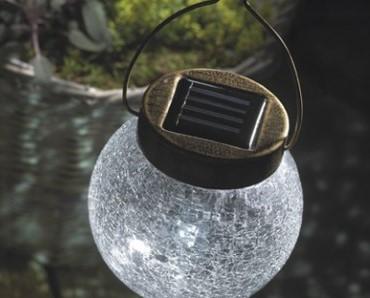 подвесные солнечные светильники