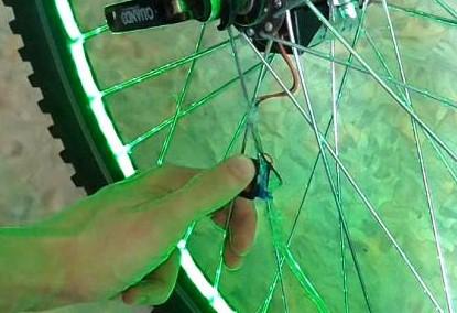подводим провода