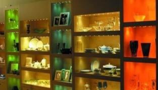 Подсветка шкафа светодиодной лентой