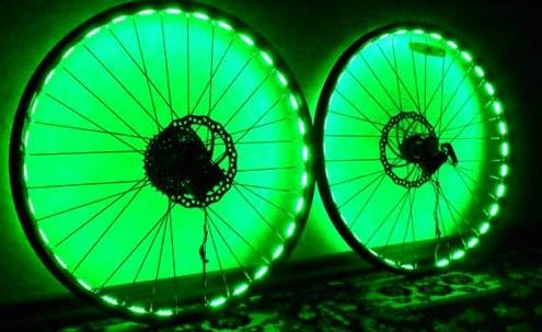 подсветка колес лентой