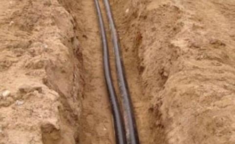 провод под землей