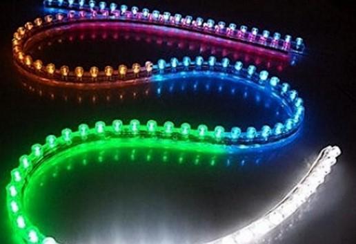 разноцветная лента для авто