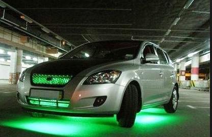 светодиодные ленты в машине