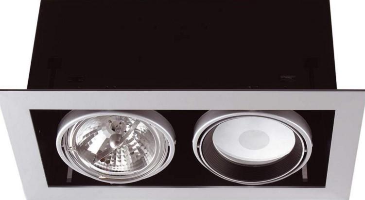 сплошные точечные светильники