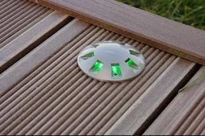 точечные светильники для террасы