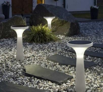 фонари в качестве основного освещения