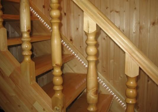 LED подсветка лестницы