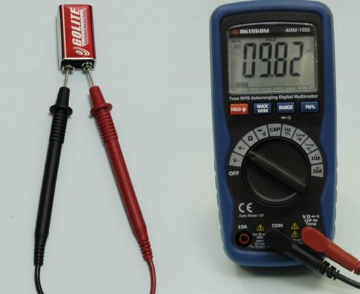 Измерение постоянного тока мультимером