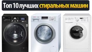 Рейтинг лучших производителей стиральных машин