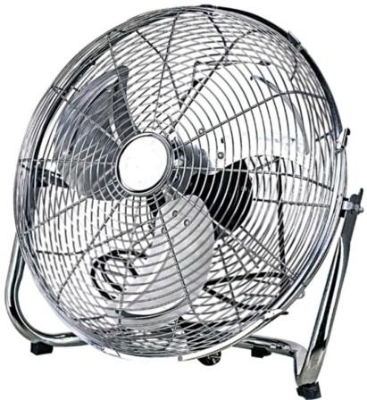 Напольный осевой вентилятор в доме