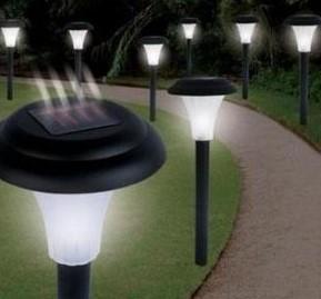 солнечные светильники