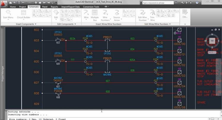 AutoCAD Electrician для черчения схем
