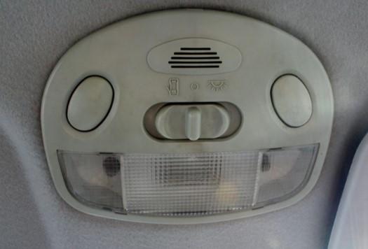 Как снять плафон освещения в салоне