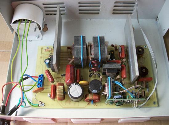 Конструкция инверторного стабилиатора