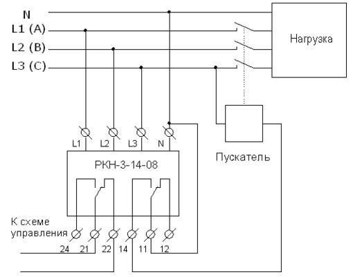 Схема РКН 3-14-08