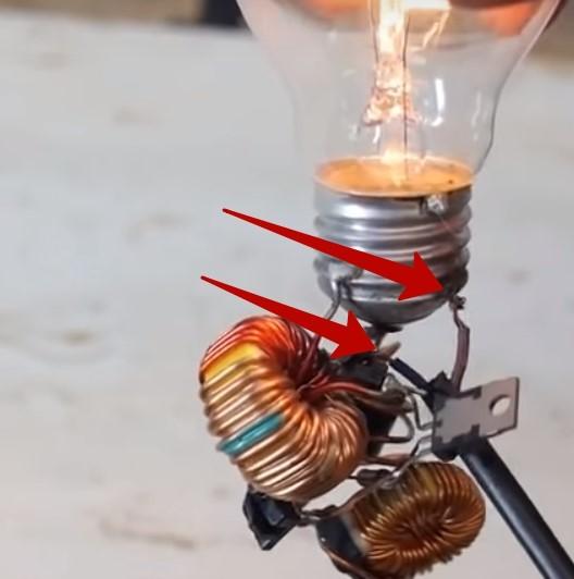 как работает вечная лампа