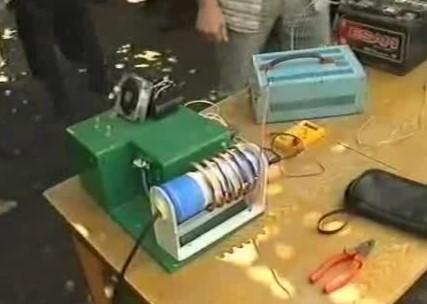 принцип работы бестопливного генератора