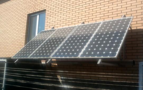 способ установки солнечных батарей