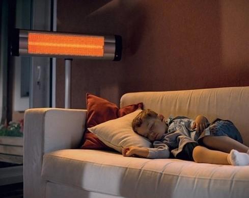 Безопасное отопление инфракрасным обогревателем