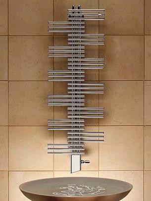 Вертикальная модель электрического полотенцесушителя