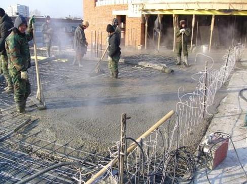 Как прогреть бетон