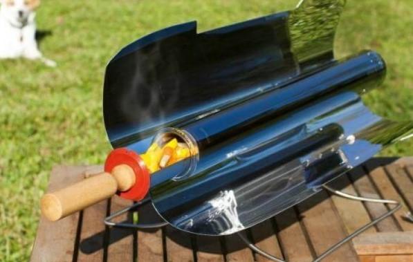 как готовить на солнечном гриле