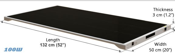 солнечная батарея 100 ватт