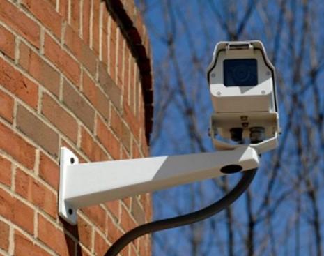 Видеокамеры на доме