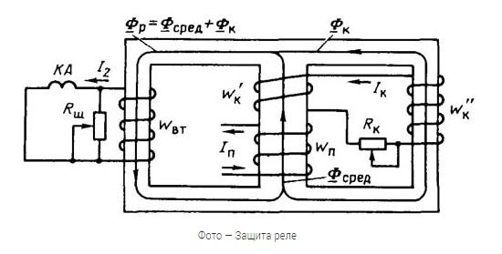 Защита реле в трансформаторе