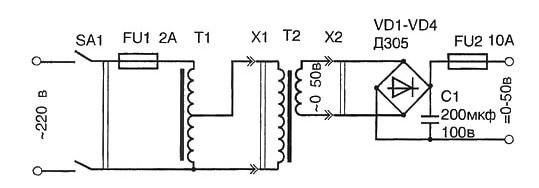 Принцип магнитной индукции в трансформаторе