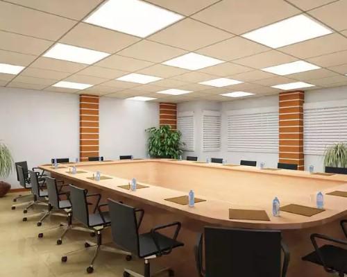 Светодиодные панели в офисе