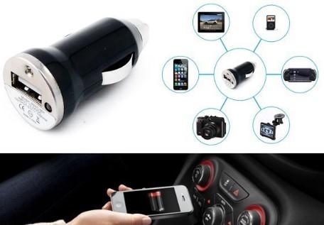 заряжаем мобильный в машине