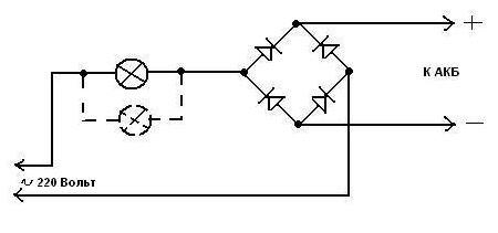 схема сложного самодельного устройсва