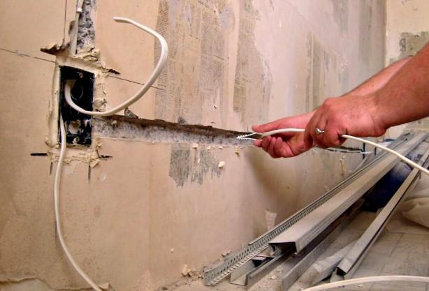 Как демонтировать старую электропроводку