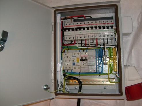 Квартирный электрощит