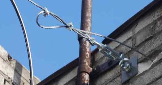 Проведение электросети по воздуху