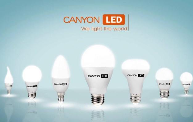 Светодиодные лампы Canyon