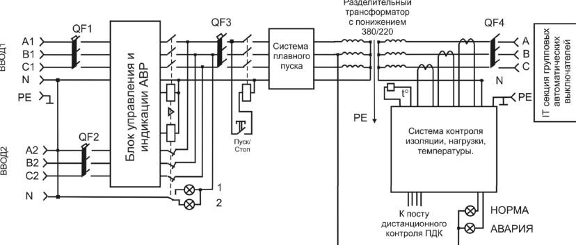 Схема разделительного трансформатора для дома