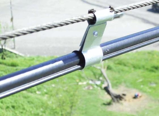 Тросовая электропроводка