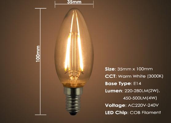 светодиодные Лампы Эдисона характеристики