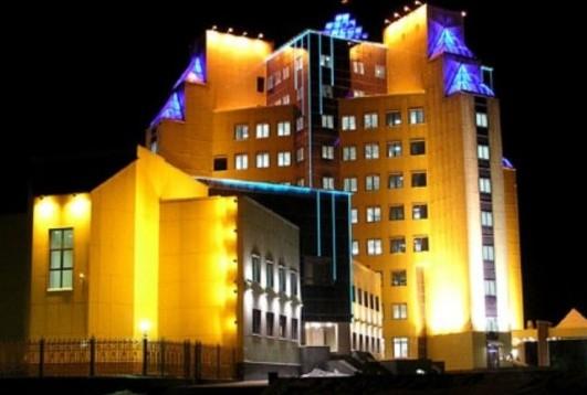 Архитектурная заливающая подсветка