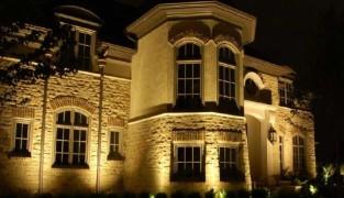 Архитектурное освещение фасадов