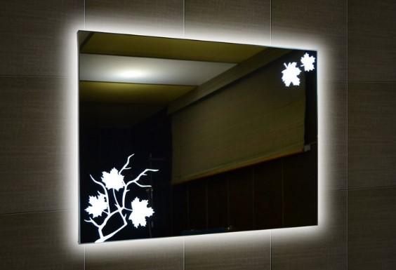 Как сделать подсветку зеркала в ванной