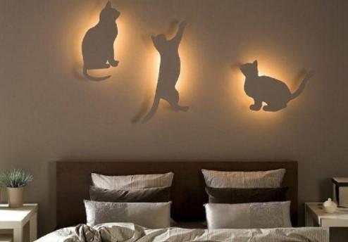 Хай-тек бра в виде кошки