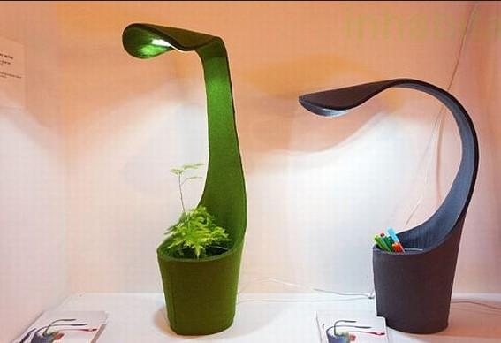 необычная настольная лампа для офиса
